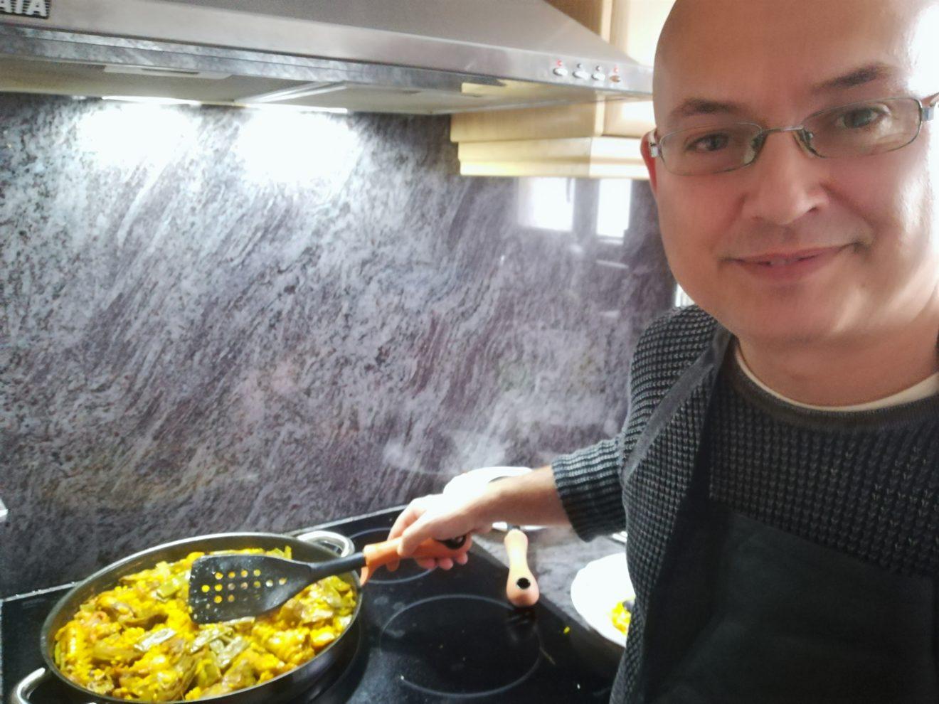 Paella online, clases de paella online, online tours, paella valenciana, tour online